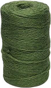 Ktyssp Green Jute Garden Twine Horticultural Twine String Line 60 Meters Linen Thread
