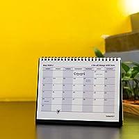 "Thinkpot 2020 Holiday Planner Desk Calendar Organiser - 8"" X 6"""