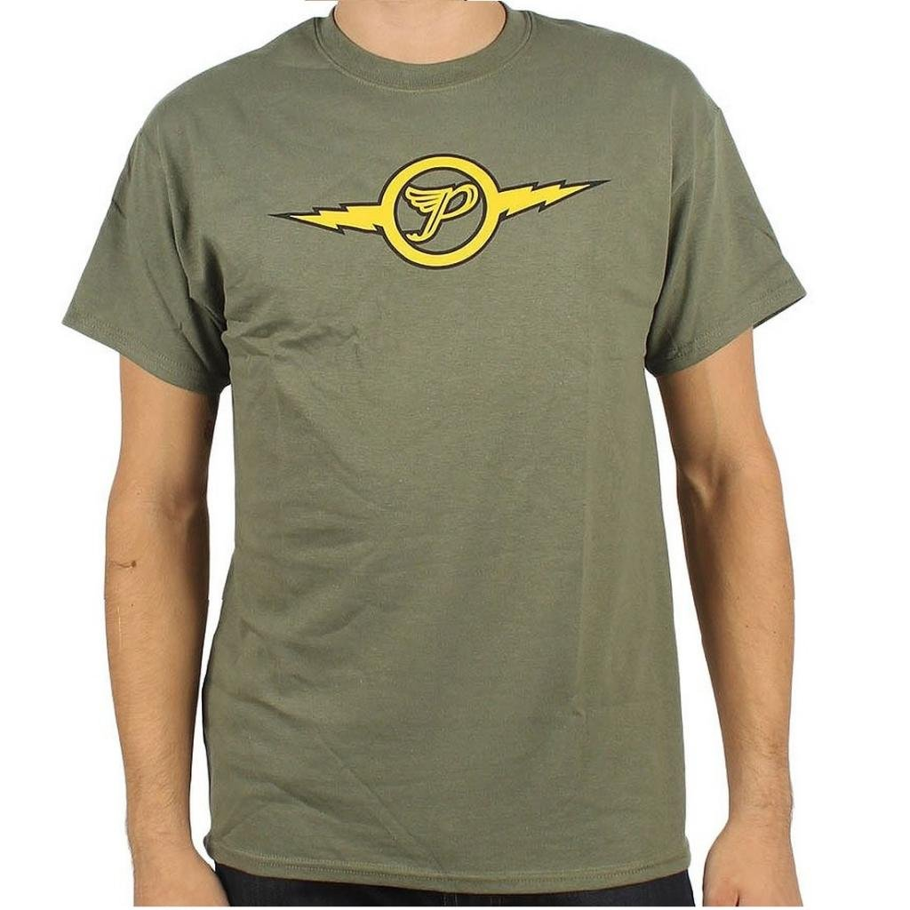 The Pixies Lightning Logo S Green T Shirt 7635