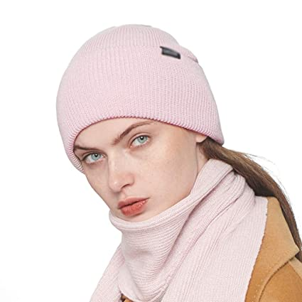 Balaclavas Wool hat Female Autumn and Winter hat Female Thick Cashmere hat  not Easy to Play fb76d9c9a11
