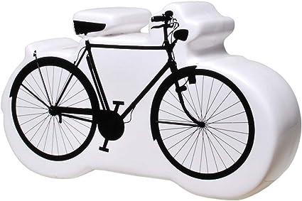 Udo Schmidt Caja de Dinero Ingenioso Hucha Bicicleta como Divertido Regalo para Cumpleaños