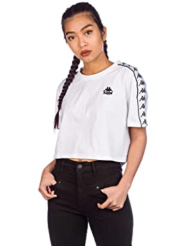 best collection select for authentic save off Kappa Women T-Shirts Apua White S: Amazon.co.uk: Clothing
