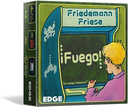 Edge Entertainment-¡Fuego-Juego de Mesa-Español, Color (EE2FFZ01): Amazon.es: Juguetes y juegos
