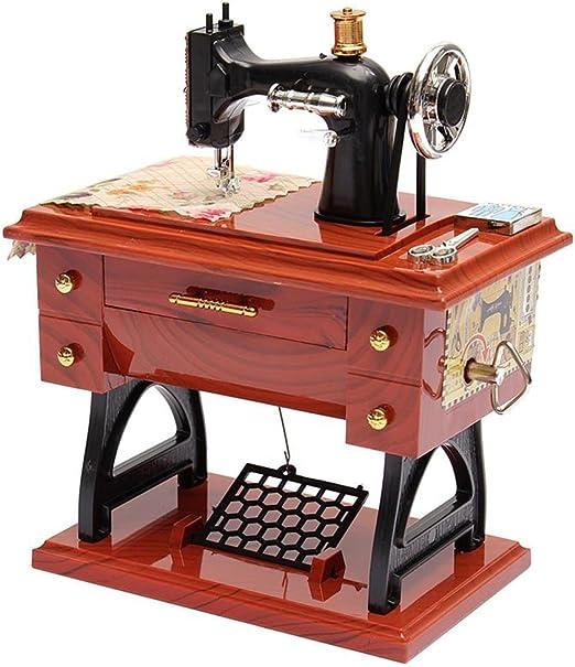 ToxTech Máquina de coser caja de música, máquina de coser de estilo de la máquina de