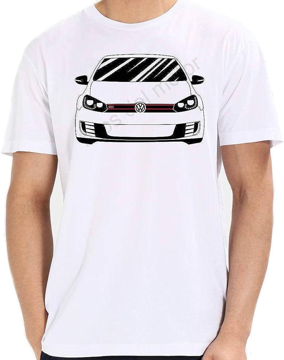 Desconocido Camiseta Golf mk6 GTI: Amazon.es: Ropa y accesorios