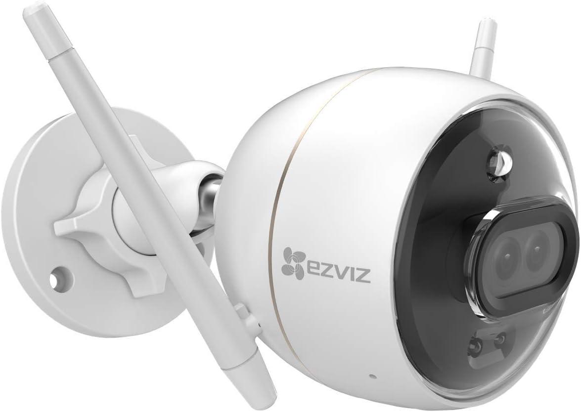 Ezviz C3x 1080p Überwachungskamera Außen Wlan Mit Nachsicht In Farbe Und Kostenloserem 24 Stunden Cloudspeicher Ki Anpassbarer Sprachalarme Ip67 H 265 Baumarkt