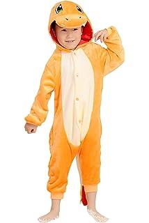 958d0a5e8c YAOMEI Bambini Unisex Kigurumi Pigiama Onesie, 2018 Ragazza Ragazzo Anime Cosplay  Halloween Natale Party Costume