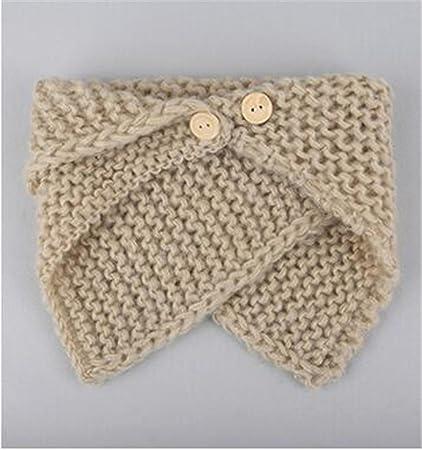 5five Per Bambini Bambini Sciarpa Scaldacollo Inverno Crochet Lana
