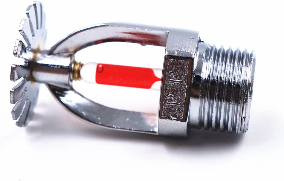 The Spray WII Standard Upright Fire Sprinkler Head 1//2NPT 68 Centigrade