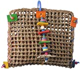 Super Bird Creations 14 by 13-Inch Foraging Pouch Bird Toy, Large