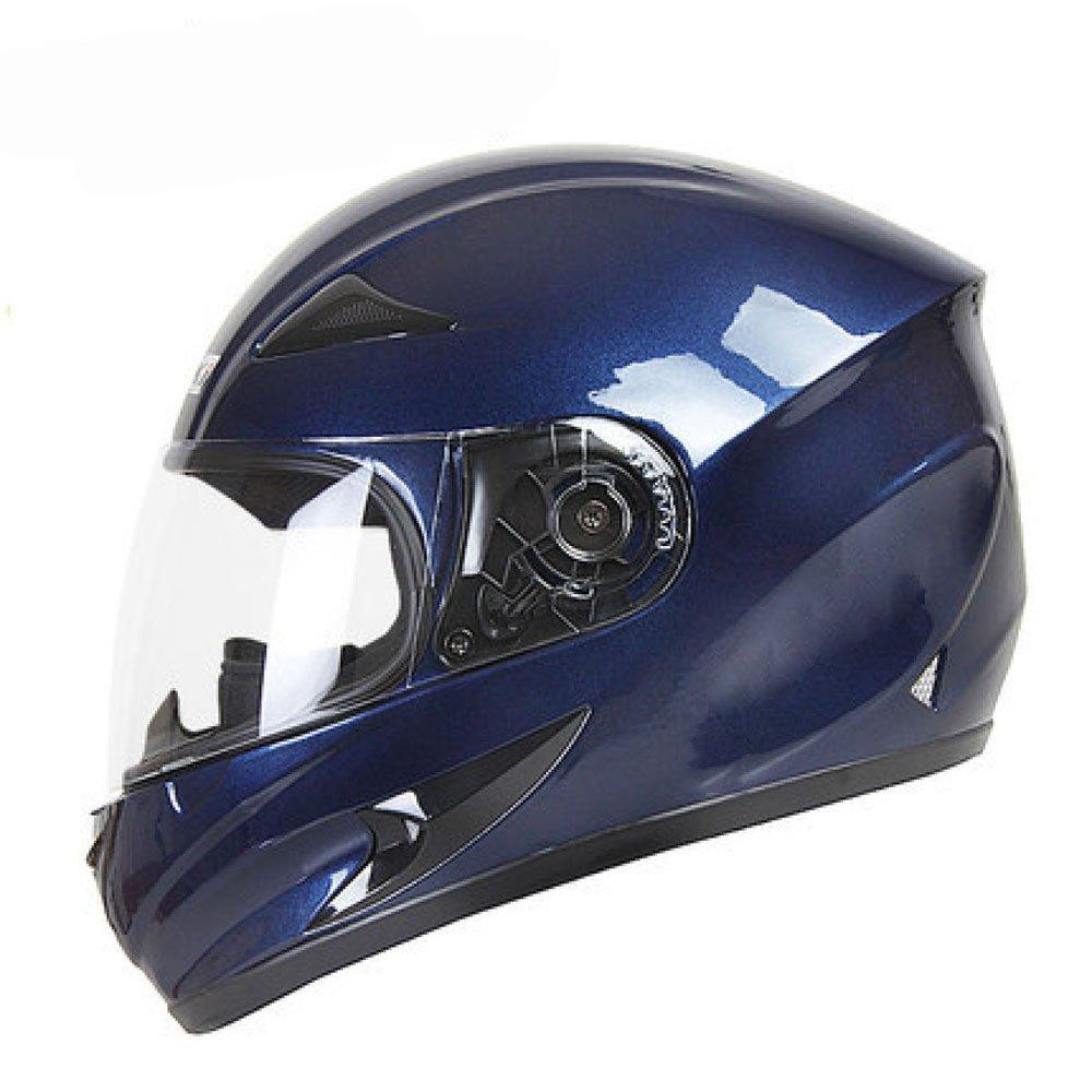 Fly® Helm, ABS Leichte Motorrad Fahrradhelm, Outdoor-Vier Jahreszeiten, Sonnenschutz Und Anti-Fog (Farbe   D, größe   XL)