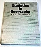 Statistics in Geography, David Ebdon, 063116880X