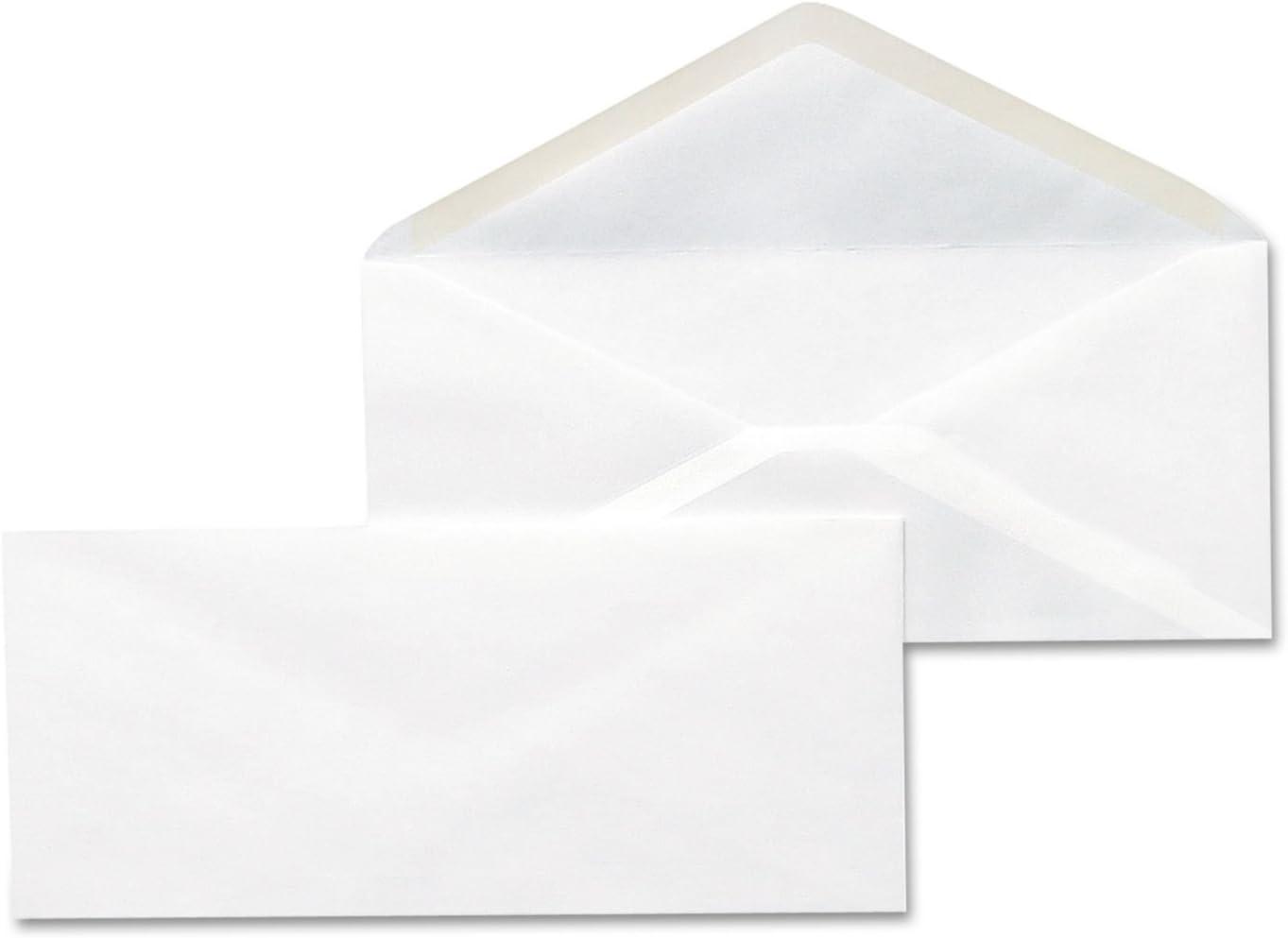 Universal 35210 Business Envelope, 10, 4 1/8 x 9 1/2, White, 500/Box