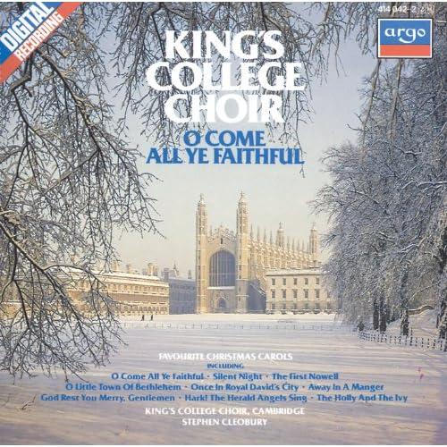 Amazon.com: O Come All Ye Faithful - Favourite Christmas Carols: The Choir of King's College ...