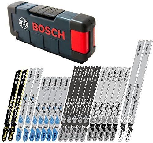 BOSCH ジグソーブレード 21本セット ケース付 ボッシュ マキタ 日立 T シャンク