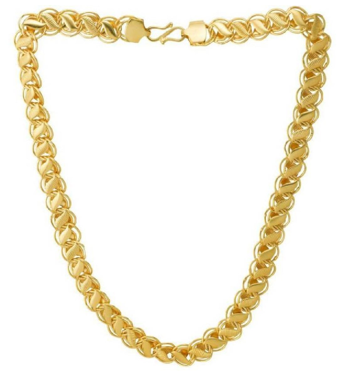 Amazon price history for Aabhu Gold And Rhodium Coated Chain For Men