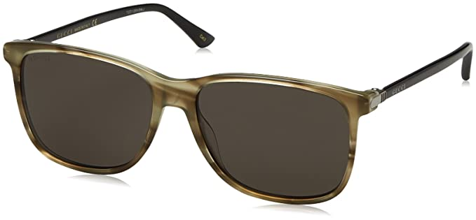 Mens GG0017S Sunglasses, Avana, 57 Gucci
