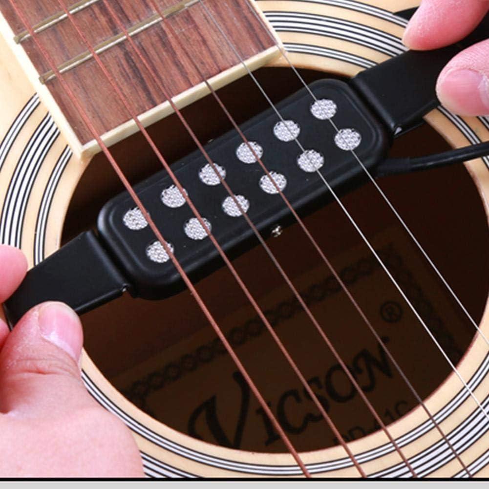 Pastillas Para Guitarra Acústica, Micrófono Ajustable Volumen ...
