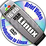 Linux on 16Gb USB Flash and 5-DVDs, Installation and Reference Set, 32-bit: Mint 18, PCLinuxOS 2013, Gentoo 12 and Mandriva 2011