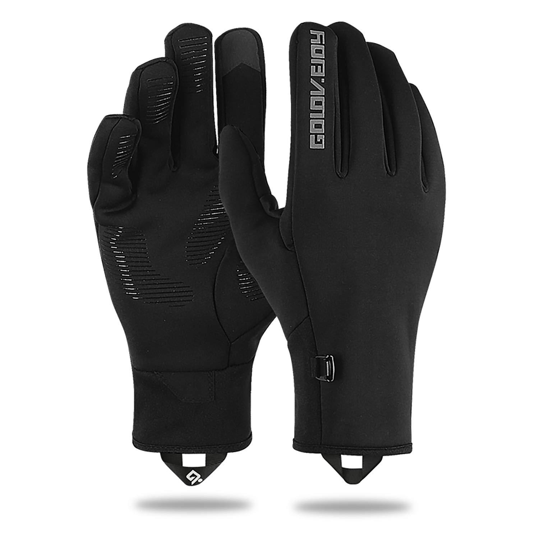 Lanyi Outdoor Sports Gloves Windproof Lightweight Anti-Slip Touchscreen Warm Liner Cycling Running Work Thin Gloves Women Men