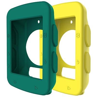 82efe6268 Ruentech Ordenador de bicicleta para GPS Garmin Edge 520 caso, suave  protector caso de silicona