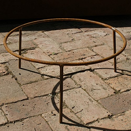 32/30cm Iron Stand/Garden Fire Pit Trivet/Wood Burner Accessory/Brazier Legs Round Wood Trading STAND30