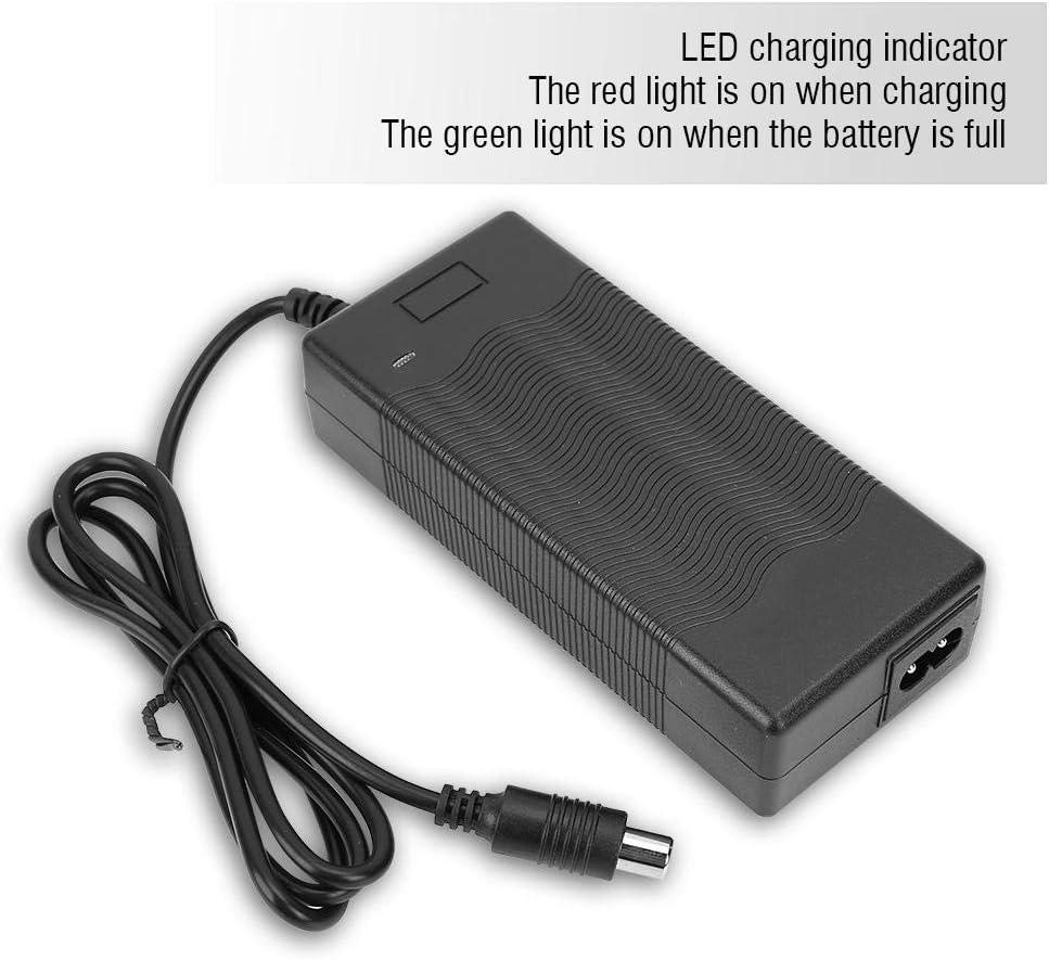 Madezz Qiilu Caricabatterie per Scooter Elettrico 42V 2A Adattatore di Ricambio Caricabatterie per Xiaomi