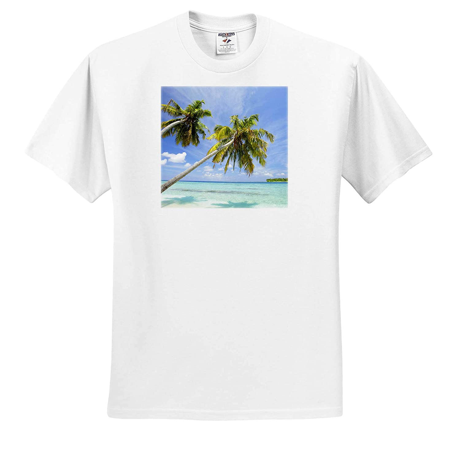 North Huvadhoo Atoll 3dRose Danita Delimont Tropical Adult T-Shirt XL ts/_312797 Indian Ocean Southern Maldives