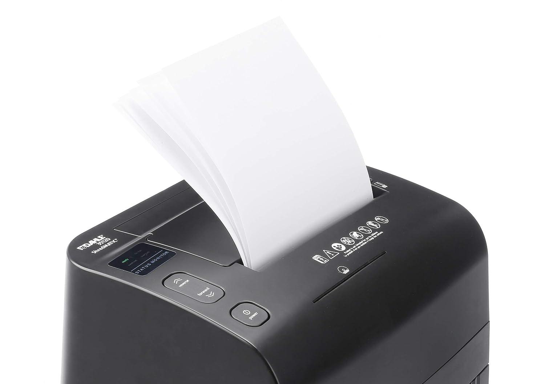 Dahle 35120 Aktenvernichter schwarz Autofeed Funktion: Automatischer Papiereinzug, 120 Blatt, P-4, Partikelschnitt, Komm auf die sichere Seite - die DSGVO gilt