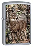 Zippo Realtree Buck Street Chrome Pocket Lighter