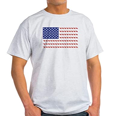 Usa Gatto Patriottico Bandiera T-shirt 23OHhrvOX