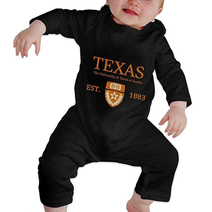 03d2978b9 Flypo-yoc University of Texas at Austin Established 1883 Baby Jumpsuit  Newborn Baby Infant Bodysuit