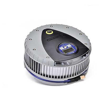 Bomba De Compresor De Aire Para Neumáticos Premium De 12V Dc - Con Manómetro Extraíble -