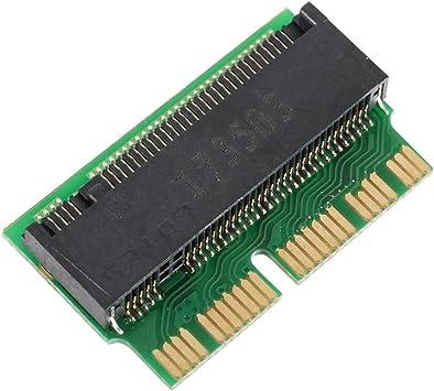 ZREAL tarjeta adaptador PCI-E x4 M.2 NGFF a SSD para Apple ...