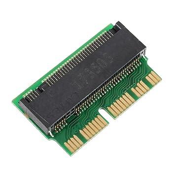 Rokoo Tarjeta adaptadora PCI-E x4 M.2 NGFF a SSD para Apple ...