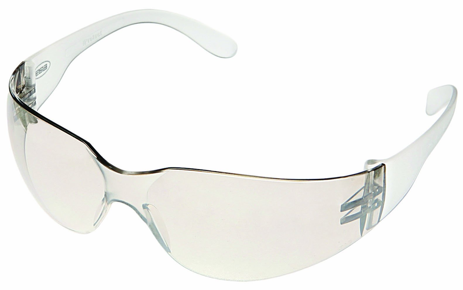 ERB 17500 Economy iProtect Safety Glasses, Clear Frame with Clear Lens by ERB
