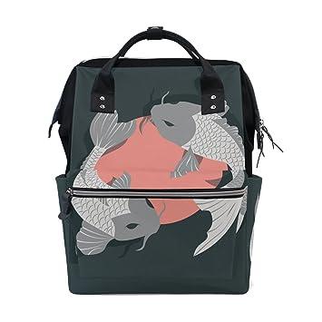 Amazon.com: Japonés peces Koi Mommy bolsas madre bolsa de ...
