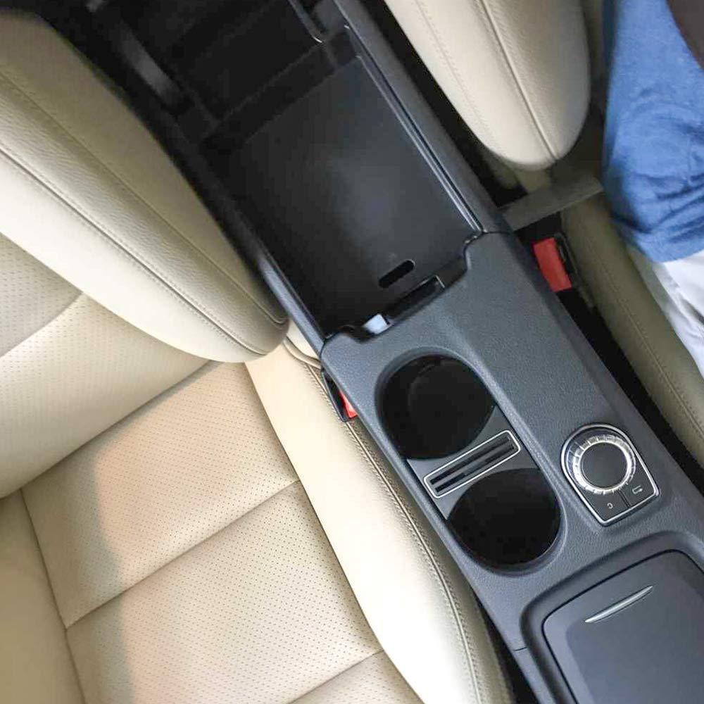 YUECHI Mercedes Benz CLA W117 C117 GLA A B Class A180 A250 A260 GLA200 Glove Armrest Storage Box Tray Decoration Cover Trim