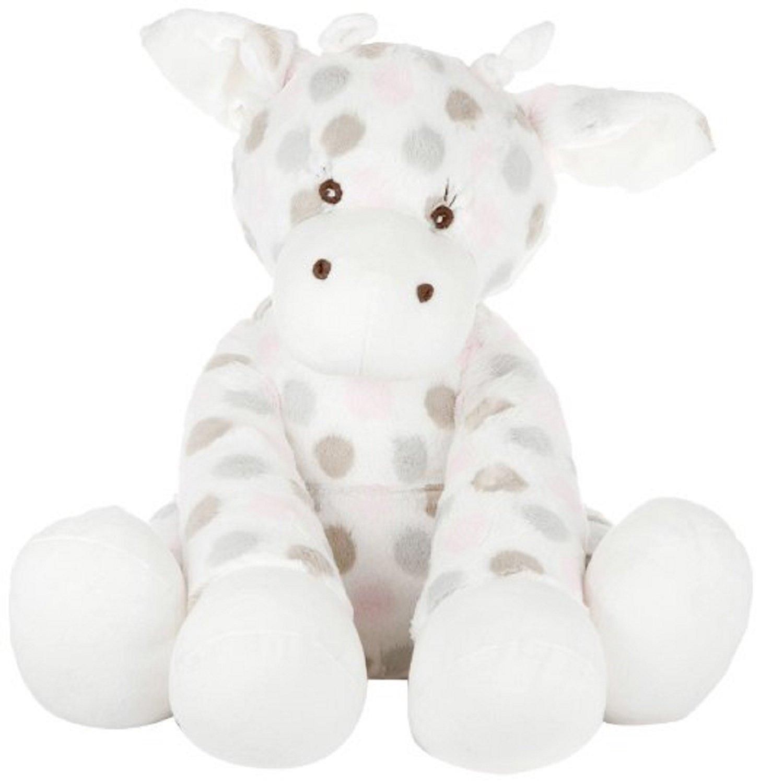 Little Giraffe Luxe Dot Pink Big G Plush Giraffe