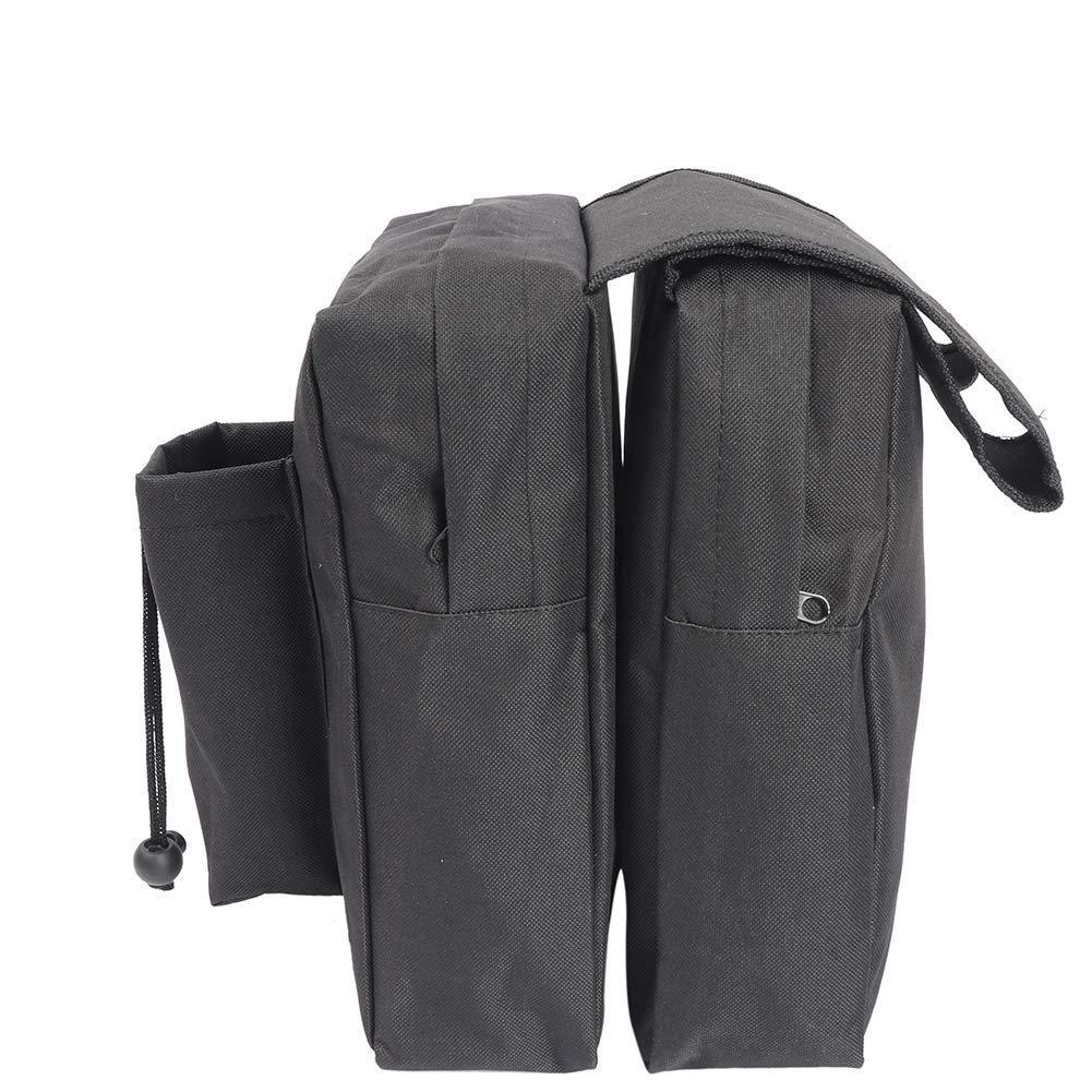con 3 scomparti accessori ATV borsa da sella universale per moto in tessuto Oxford 600D QEES per ATV impermeabile