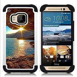 King Case - Sunset Beautiful Nature 30 - Cubierta de la caja protectora completa h???¡¯???€????€?????brido Body Armor Protecci??&AEli