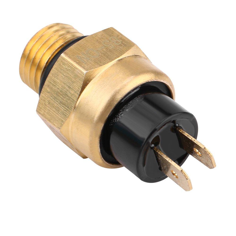 Interrupteur de Temp/érature du Ventilateur Thermostat Interrupteur de Refroidissement /Électrique du Moteur Interrupteur de Capteur de Guidon de Moto 2 Temps et 4 Temps