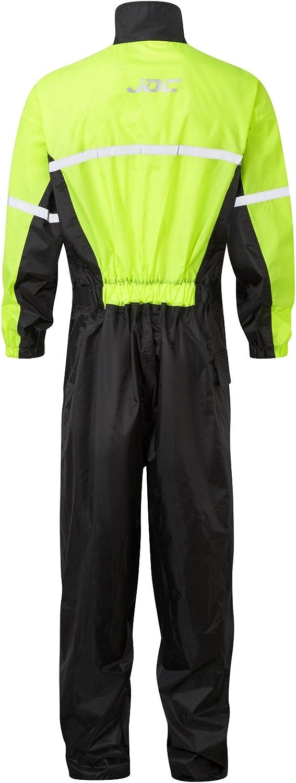 Jdc Motorrad Kombi Regenkombi 1 Stück Wasserdichter Regenschutz Shield Schwarz Gelb S Länge Medium Auto
