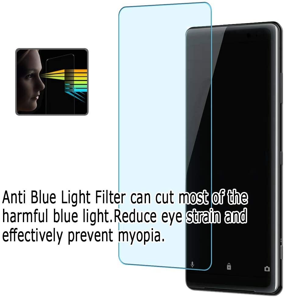 compatible with Lenovo ThinkPad X1 Tablet 2018 TPU Guard ( Not Tempered Glass Protectors ) Puccy 2 Pack Anti Blue Light Screen Protector Film
