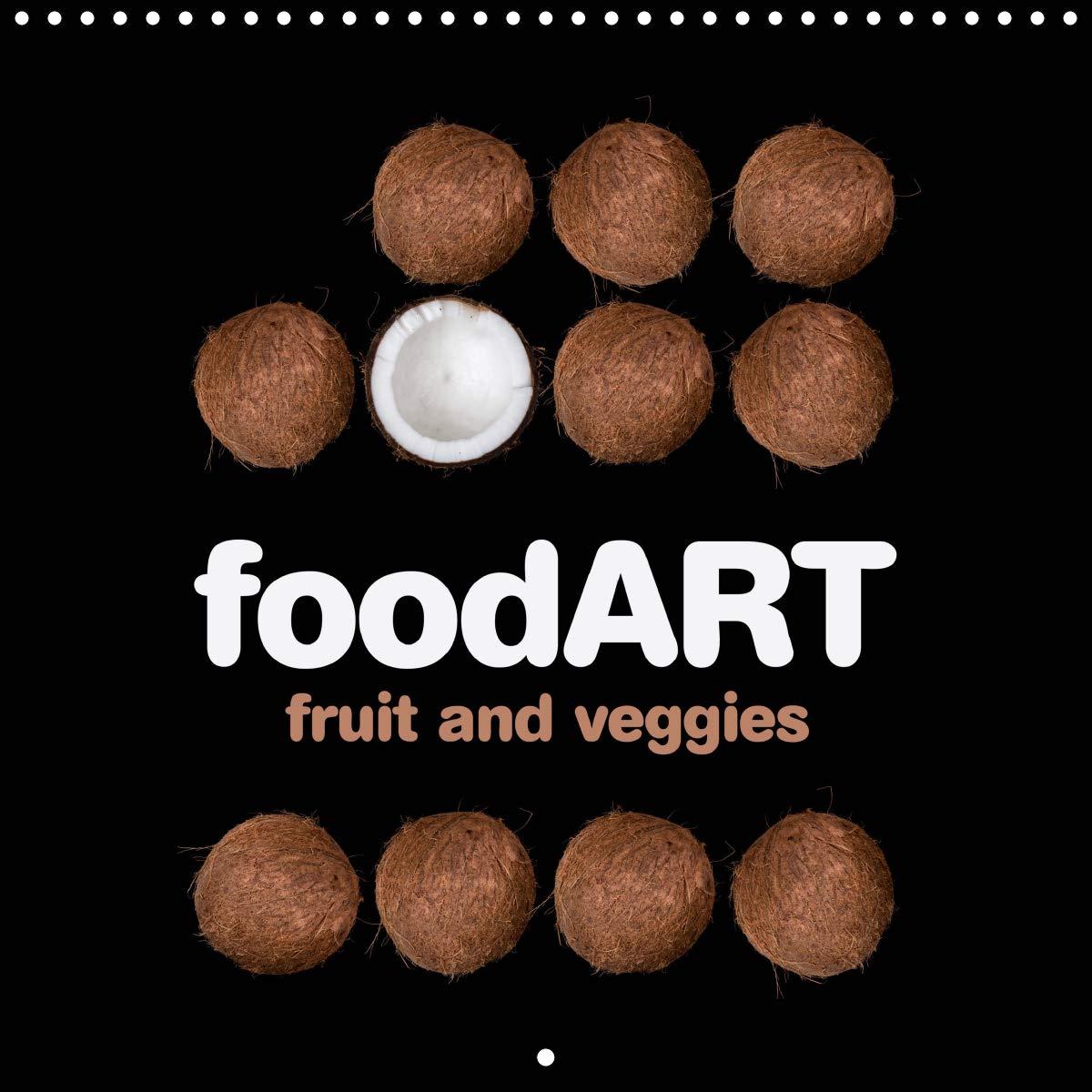 FoodART Fruit And Veggies  Wall Calendar 2020 300 × 300 Mm Square