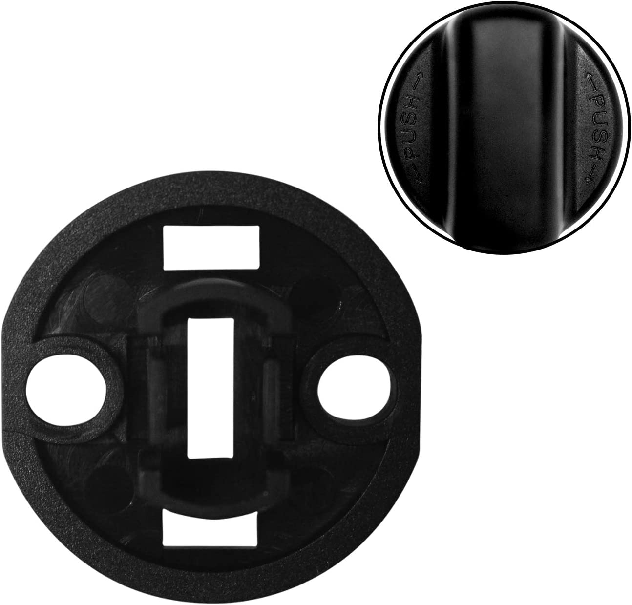 Travay Ignition Key Push Turn Knob and Ignition Switch Base for Mazda Speed 6 CX9 CX7 D6Y176142,D46166141A02 Keyless Entry