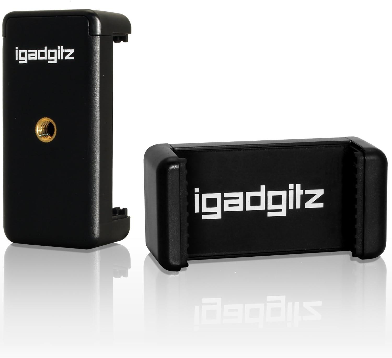 iGadgitz U3599 Adaptador de fijación Soporte Pinza Clip Smartphone ...