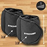 Stronger-Ankle-Weights-Set-2x1lbs-Cuffs-Train-Like-A-Model-At-Home-Workout-Equipment-for-Slimming-Thighs-Toning-Glutes-More