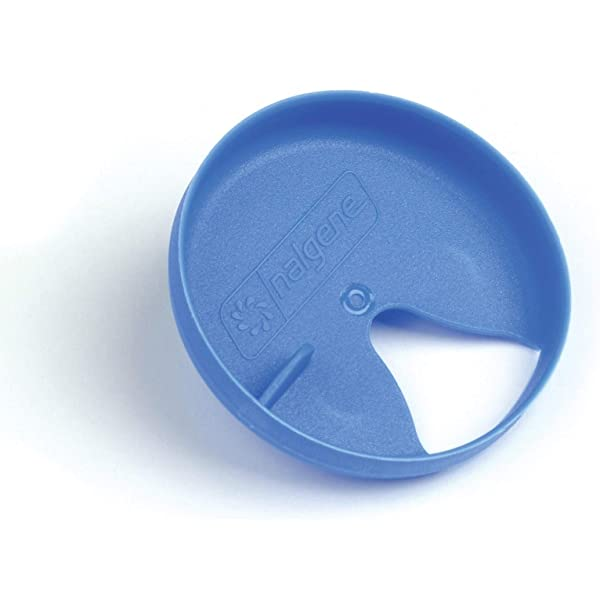 White Nalgene Easy Sipper Cap for Wide Mouth Water Bottles