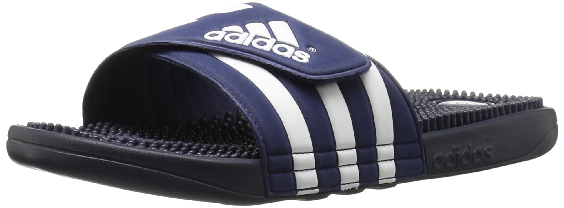 adidas Men's Adissage Slides,New Navy/New Navy/Running White,11 M